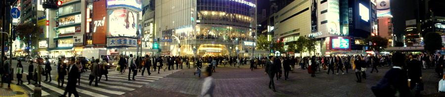shibuya pedestrian intersection