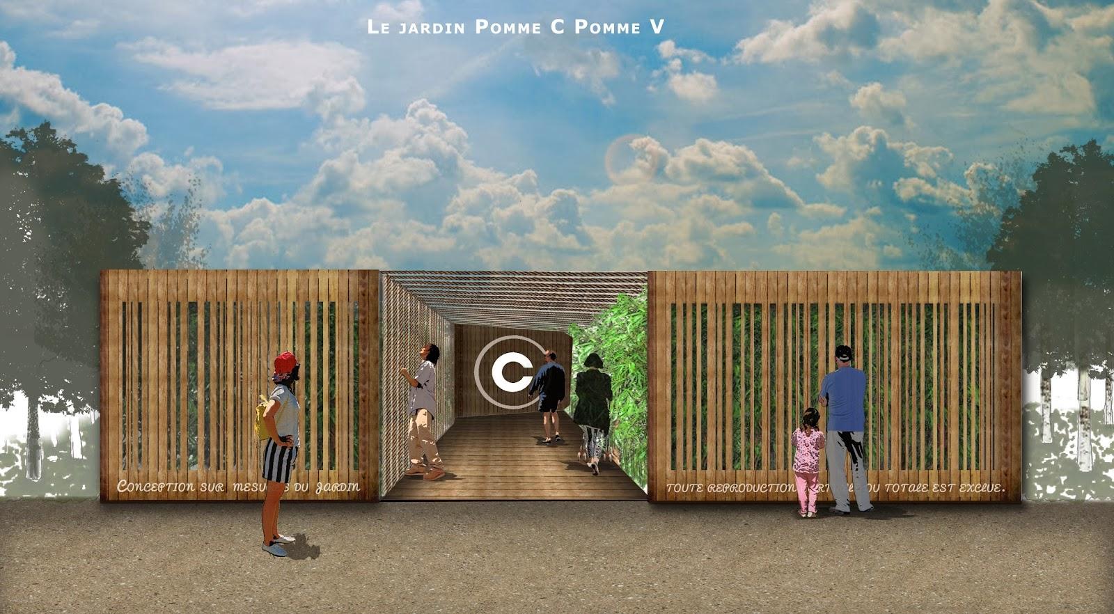 Le copa via paysage concours jardin de m tis 2013 for Agence brun paysage