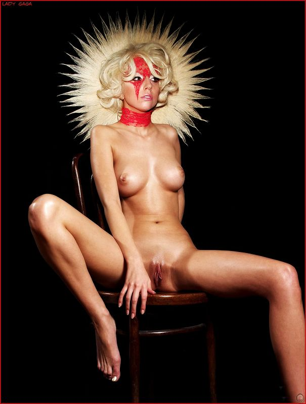 Der Form lady gaga nude playboy