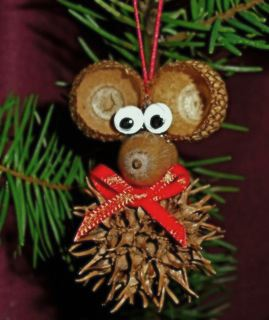 christmas mouse ornament 1 - Mouse Decorations Christmas