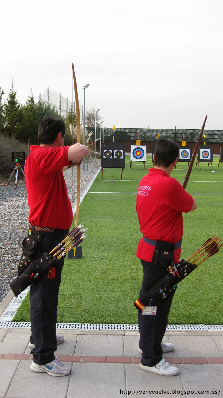 competir en el tiro con arco