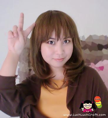 cute asian wig