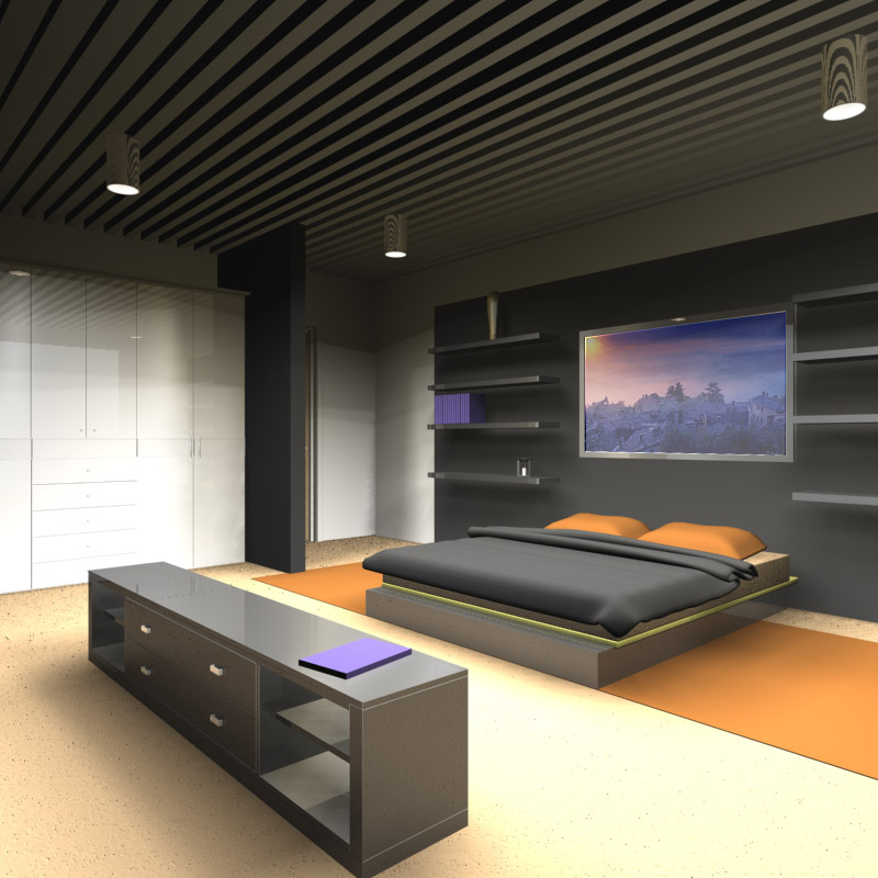 Art d co chambre design for Chambre design
