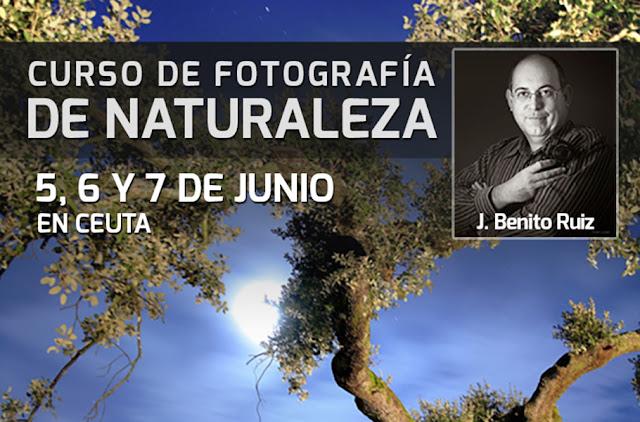 Curso con José Benito - 5 al 7 de junio en Ceuta