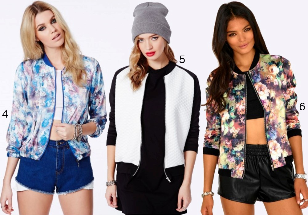 Bomber Jacket Fashion Trend 2014