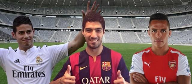 10 Pemain Bola Termahal di Bursa Transfer 2014-2015