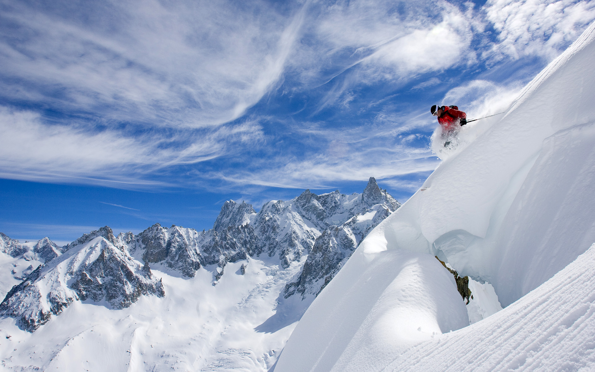 gallery for extreme skiing wallpaper