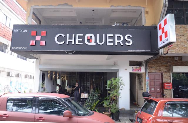 Chequers Waffles @ TTDI Taman Tun Dr Ismail