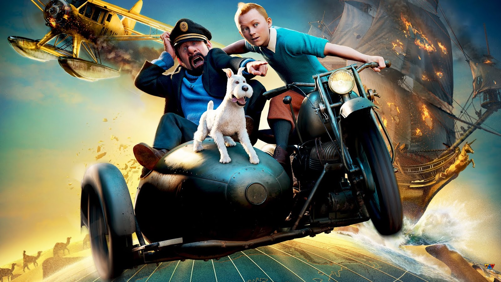 Adventure Of Tintin Movie Free Download