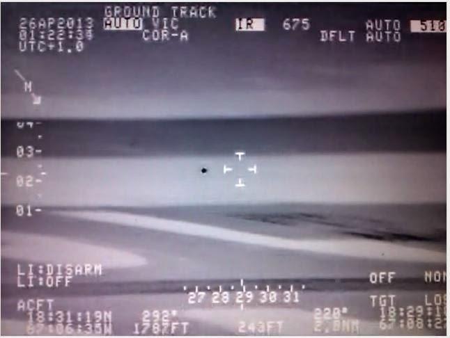 infrarrojos video ovni ufo