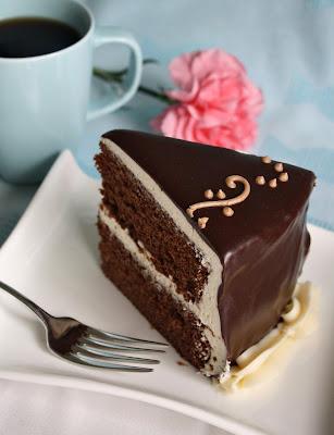 Baking Journal: Chocolate Fudge Layer Cake with Vanilla Buttercream ...