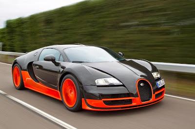 Mecánica del Bugatti Veyron