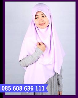 jilbab segi empat kcb