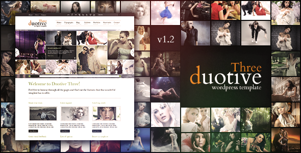 Duotive Three Wordpress Theme Free Download by ThemeForest.