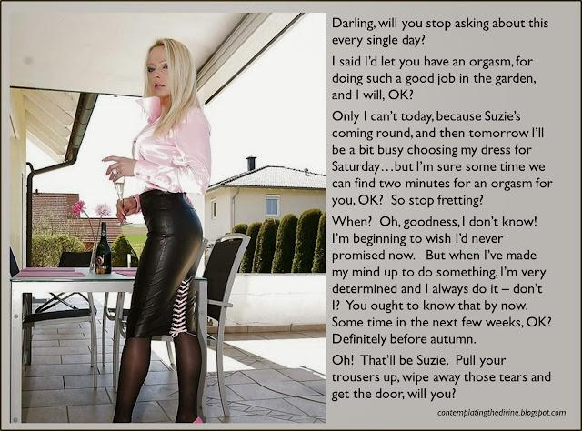 Mistress owes her slave