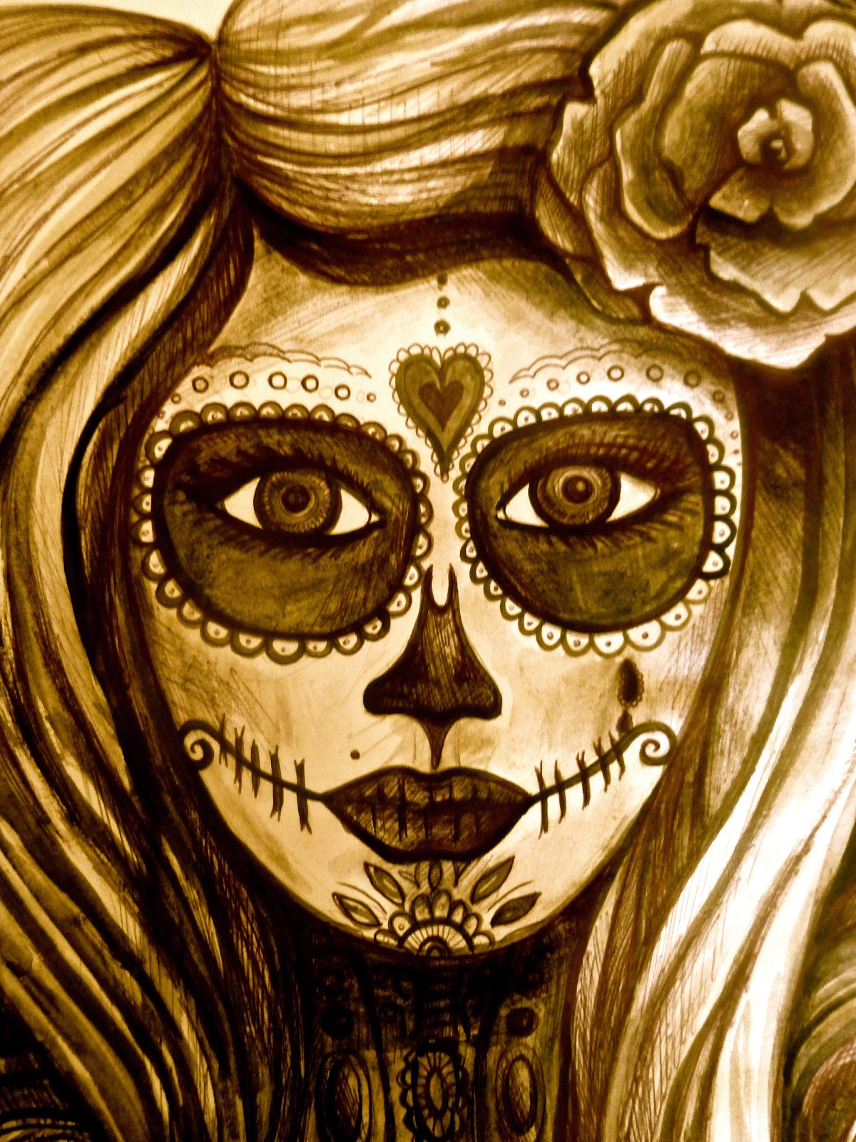 artist illustrator of all thing magical and creative : Sugar skull ...