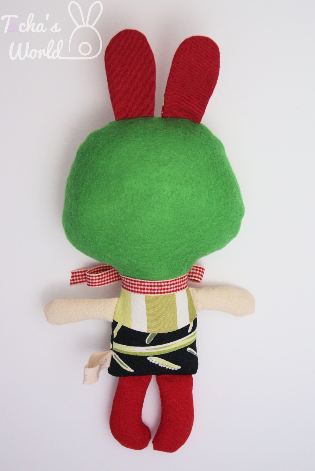 bunny, rabbit, stuffed, toy, cotton, eco felt, hand made, Tocha's World
