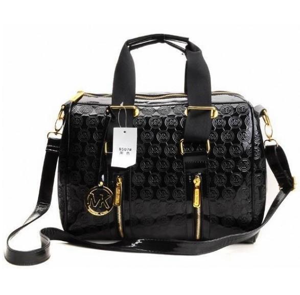 New Zealand Michael Kors Grayson Shoulder - 2012 08 Michael Kors Grayson Shiny Handbag