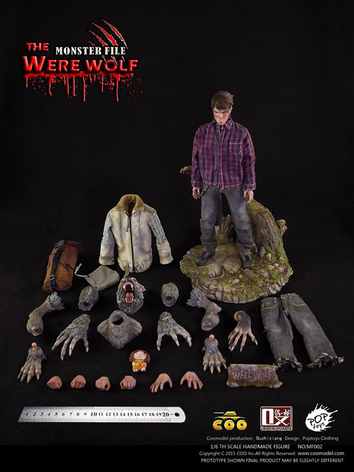 COOMODEL X OUZHIXIANG - Monster File Series - The Were Wolf E5