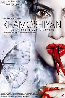 Khamoshiyan (2015) Hindi Movie Poster