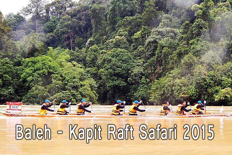 Baleh-Kapit Raft Safari 2015