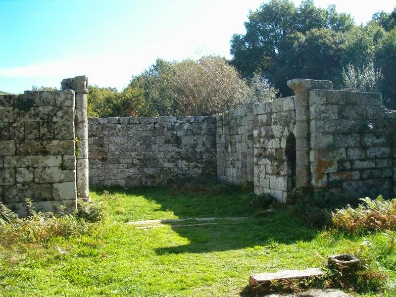Baños Romanos De Bande:La montaña de Luisa y Gabriel: 14-10-26 Termas de Bande y Castro de