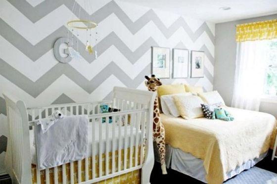 Quarto para irm os de idades diferentes reciclar e decorar blog de decora o e reciclagem Master bedroom shared with nursery