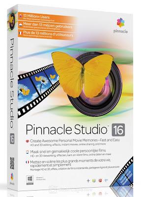 تحميل برنامج مونتاج الفيديو Pinnacle Studio 16 مجانا