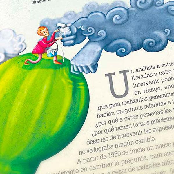 Ilustración. Resiliencia para Huella Social (El Tiempo)