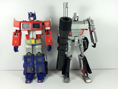 transformers Masterpiece Megatron grey test shot