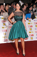 Tulisa Contostavlos on the red carpet
