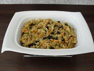 arroz, Arroz à grega, grão integral, modo de preparo de Arroz à grega,
