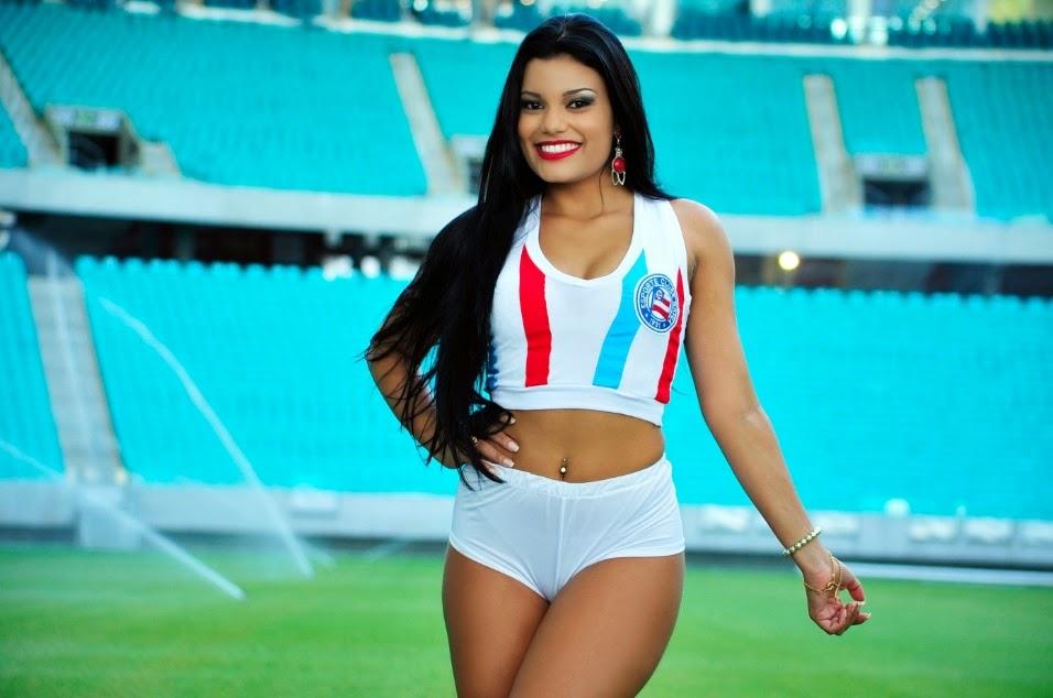 Fernanda Souza a Bela do Esporte Clube Bahia