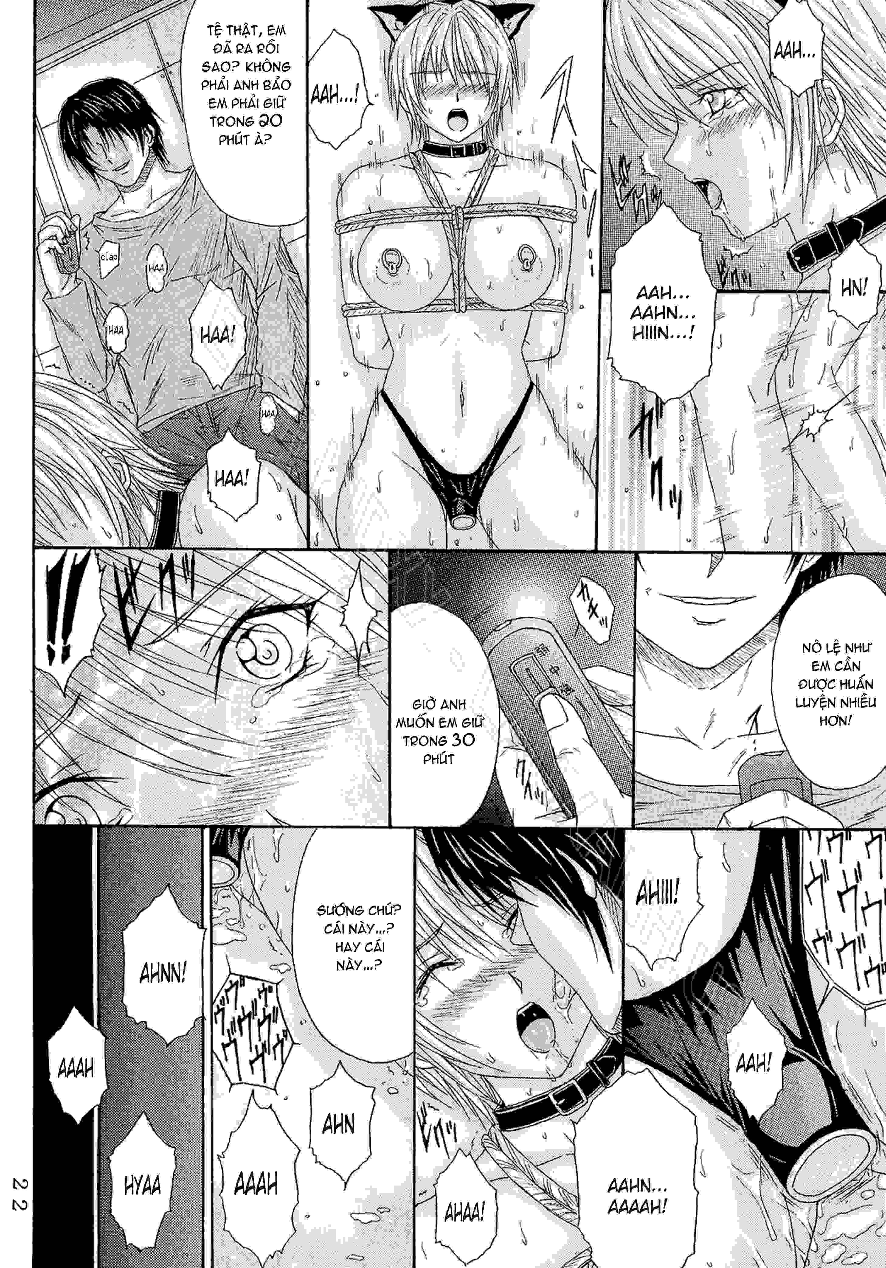 TruyenHay.Com - Ảnh 21 - Ryoujoku Rensa Chapter 6