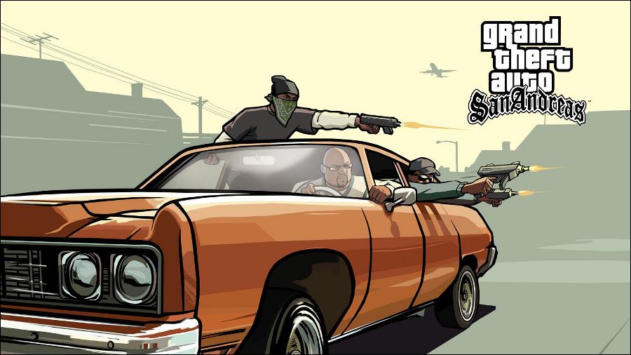 GTA: San Andreas com edição 10 anos?