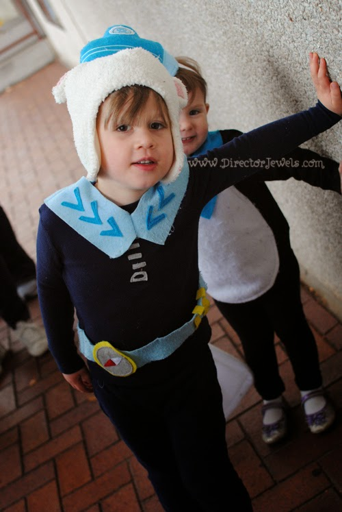 Octonauts Costumes, Peso Costume, Captain Barnacles Costume