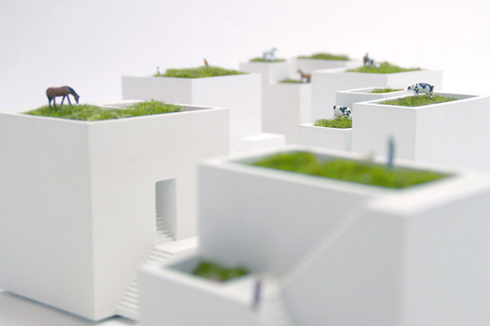 ienami paisajes en miniatura desde japon