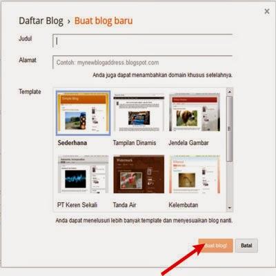 Gambar untuk Cara Membuat Blog 3