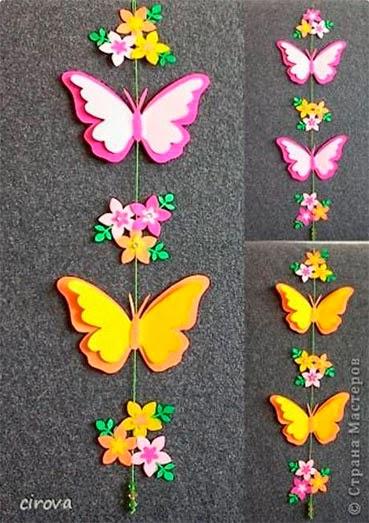 Бабочка своими руками из цветной бумаги