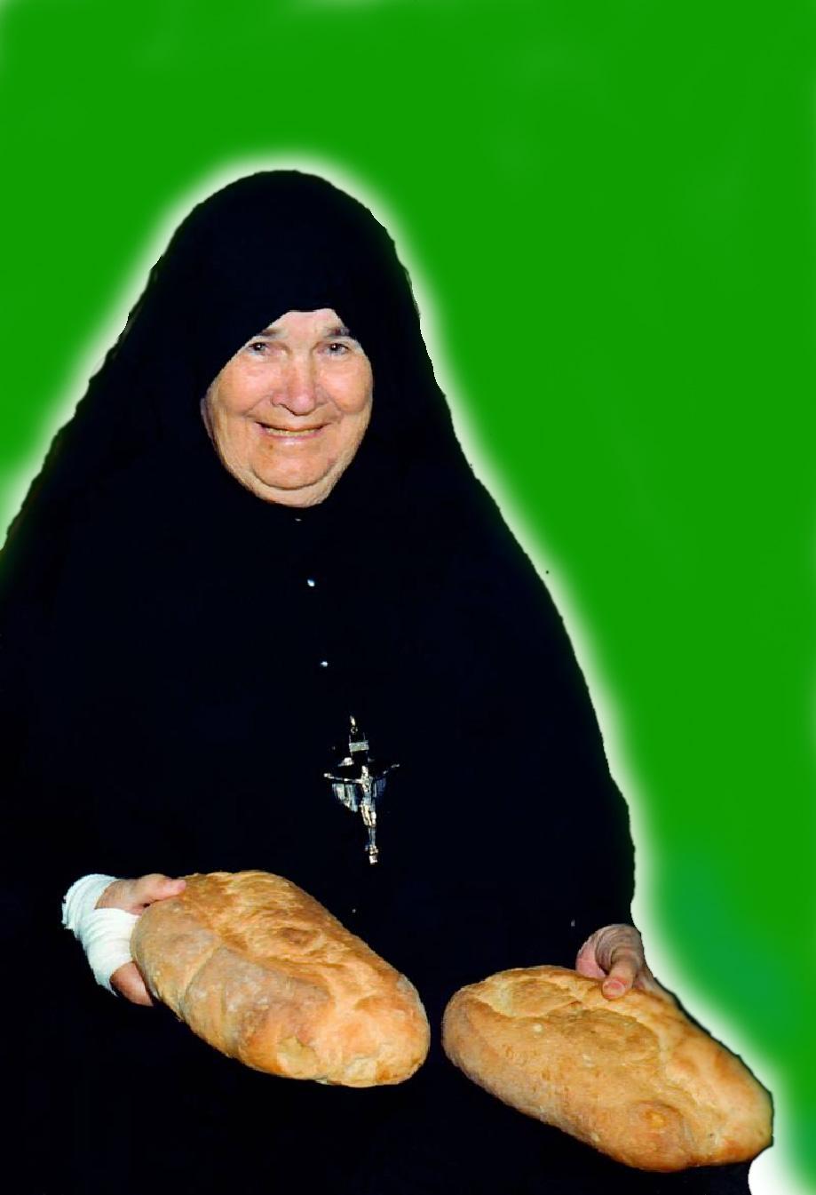 Pão e sorriso de Deus