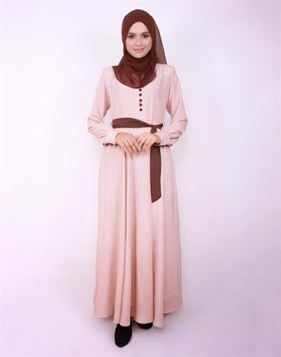 Model dress pesta muslim desain modern dan indah terbaru 2017/2018