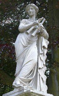 Euterpe, la musa griega de las artes musicales