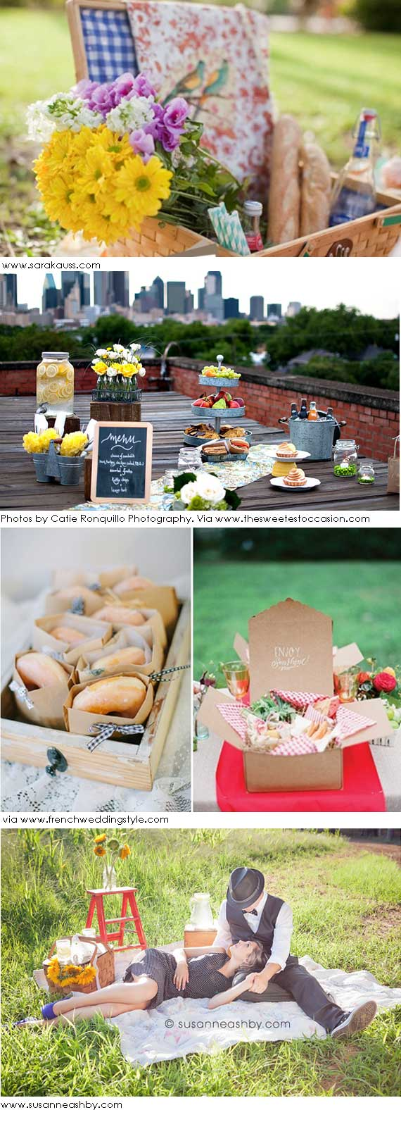 wedding romantic picnic