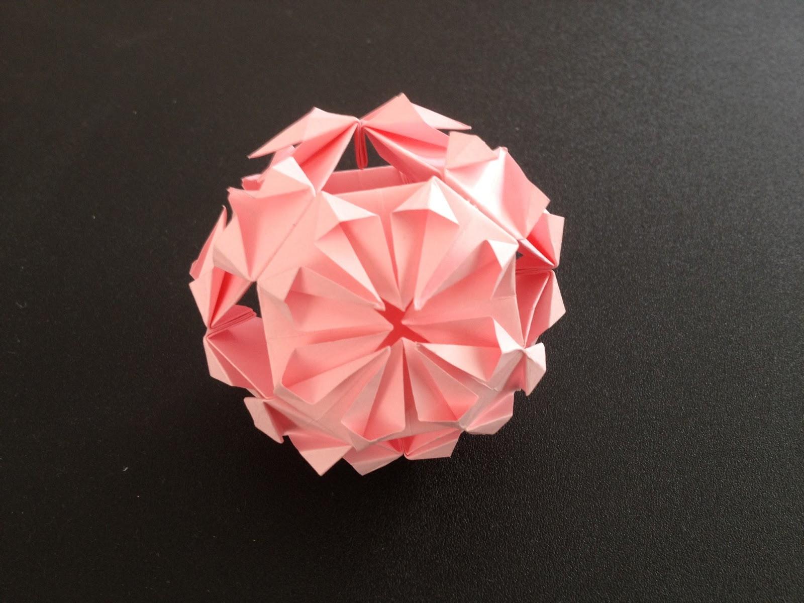 すべての折り紙 花 くす玉 折り紙 折り方 : nurbyz's origami world: ORIGAMI 折り紙