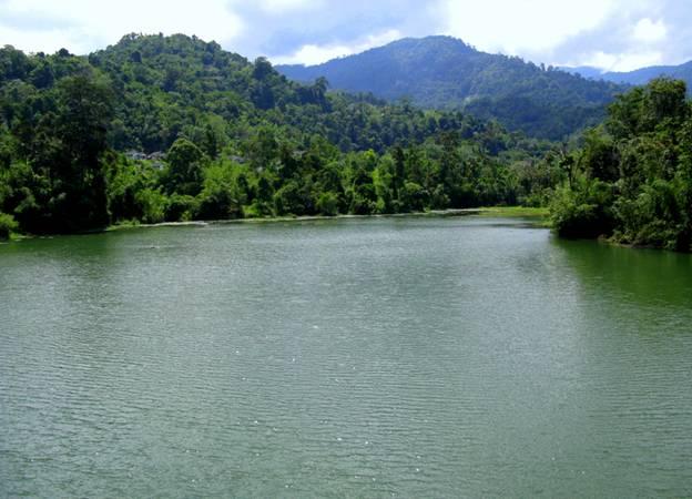 Eye in the Sky: Selangor River Dam in Kuala Kubu Bharu, Malaysia
