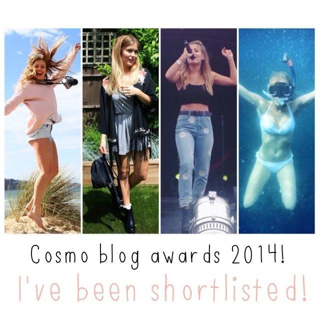 COSMO BLOG AWARDS! ♡ I've been shortlisted! PRETTY PLEASE VOTE!