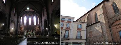 Iglesia de Saint Jacques en Montauban