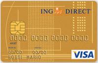 recensione carta di credito visa oro ing direct