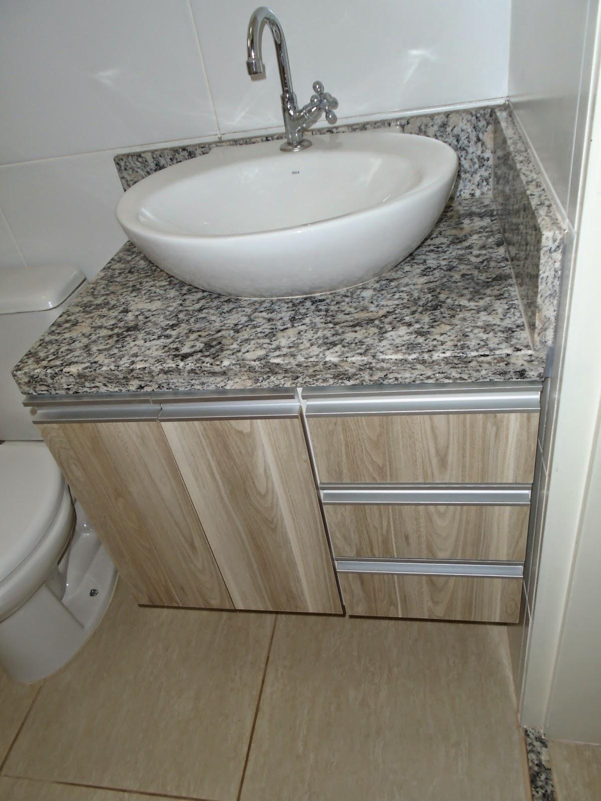 Marcenaria Caseira: Gabinete Para Lavatório de Banheiro (Padrão  #6D624D 1200 1600