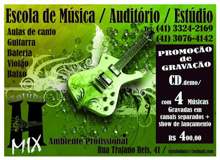 promoção de gravação / escola de música